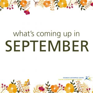 coming up in sept
